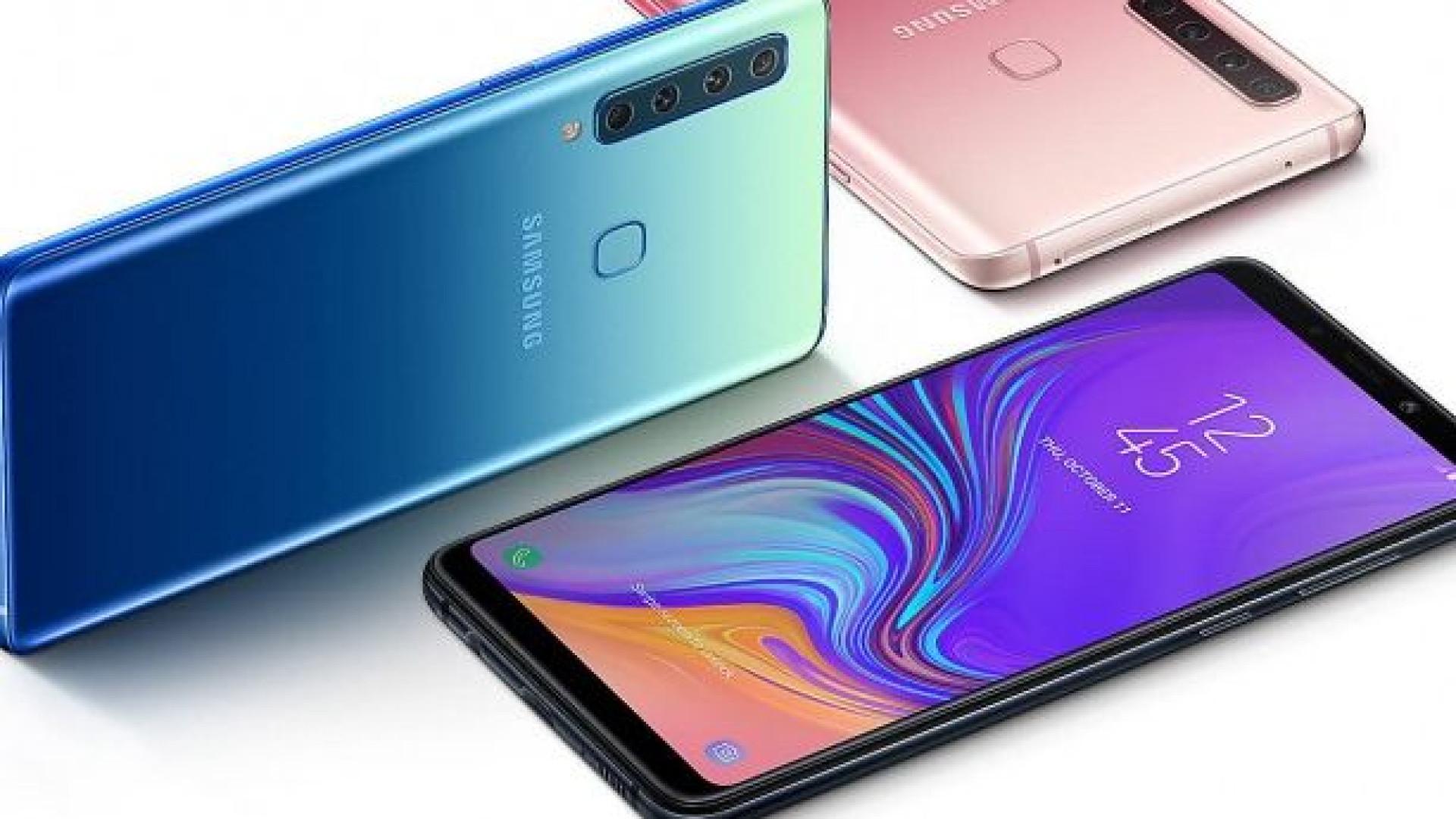 É oficial. Galaxy A9 é o primeiro smartphone de quatro câmaras