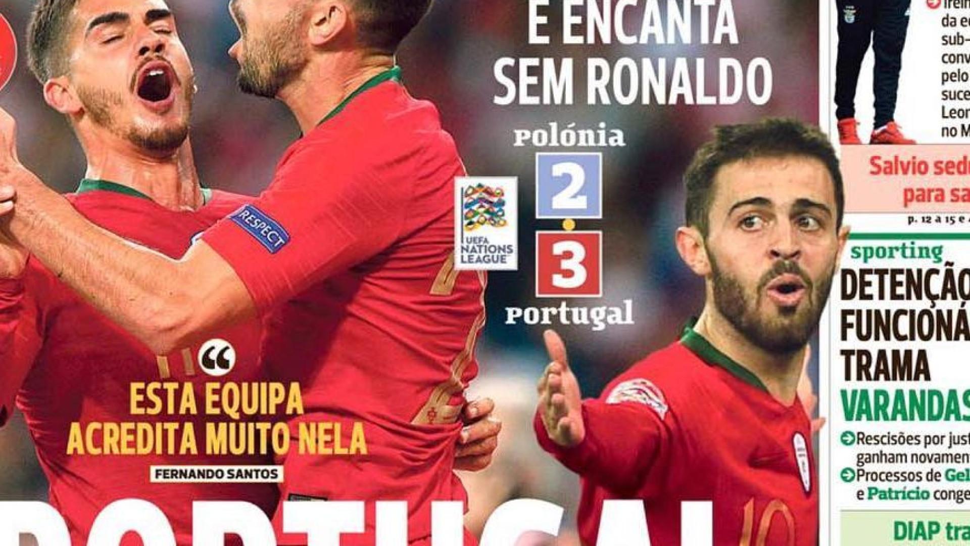 O show de Portugal, a exigência de Herrera e a prioridade Salvio
