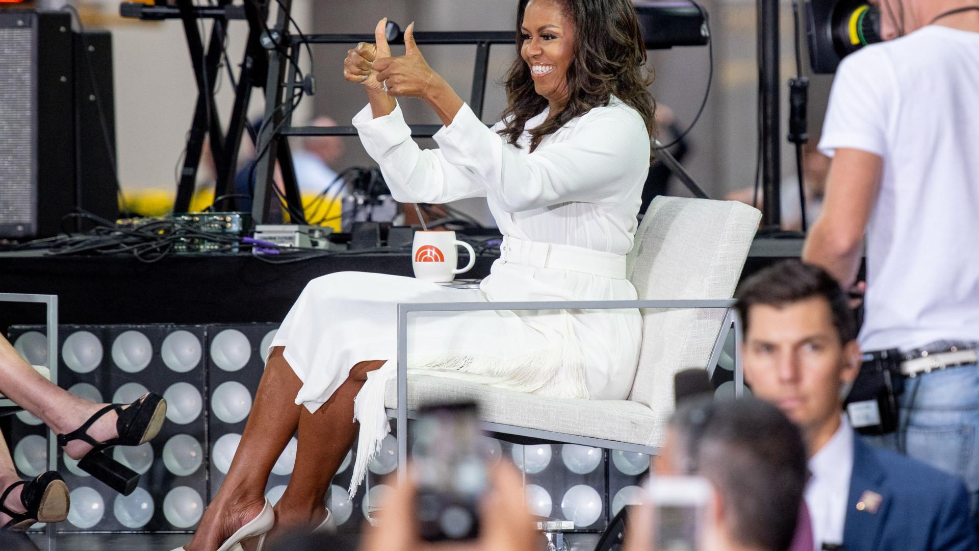 Será este um dos melhores visuais de Michelle Obama?