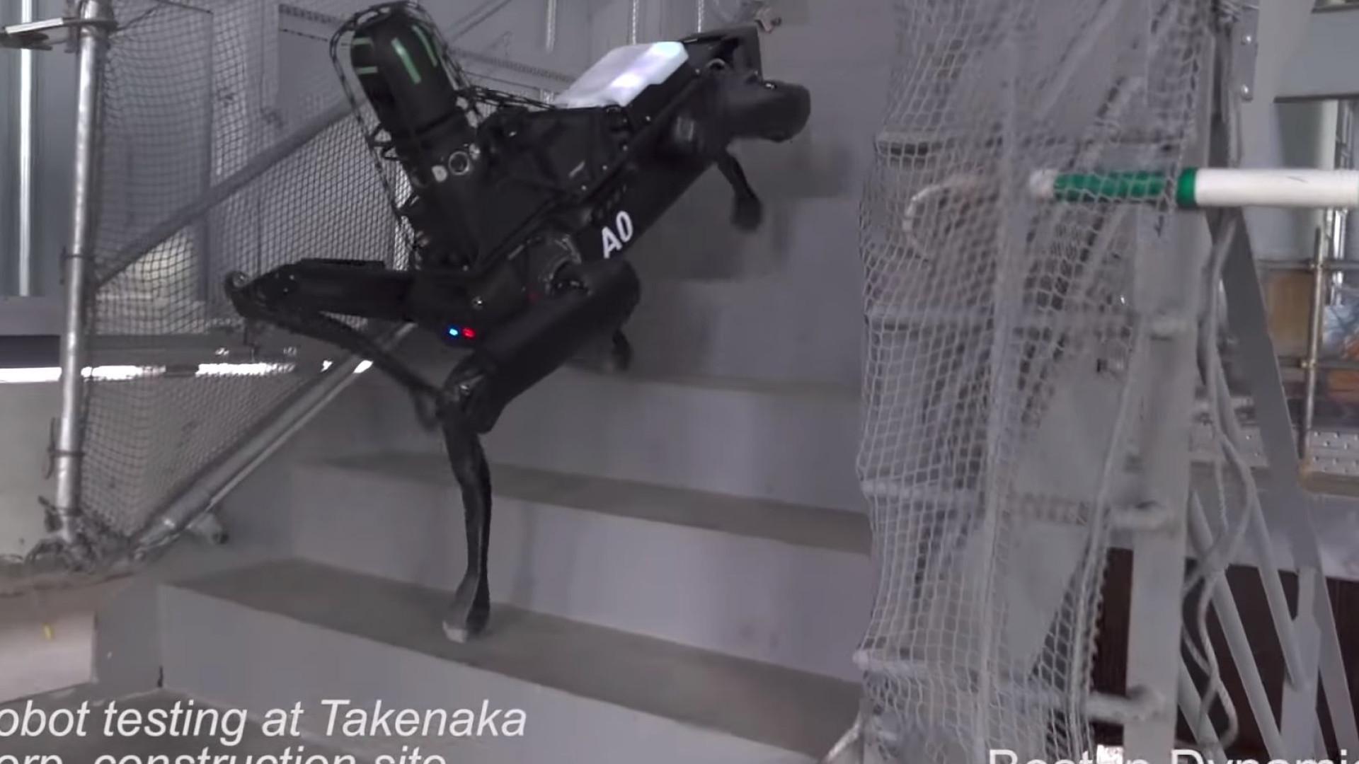Vídeo da Boston Dynamics mostra utilidade do seu 'cão' robótico