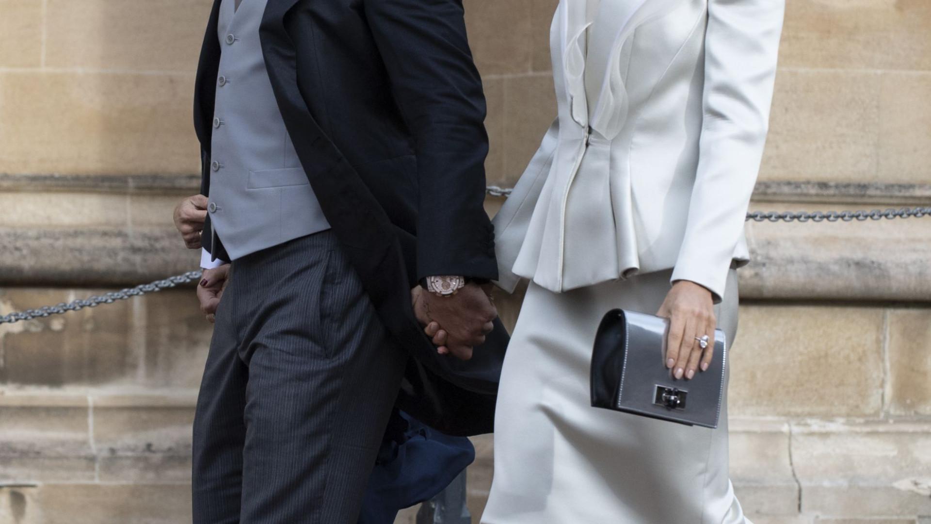 A alcunha que Robbie Williams deu aos seios da mulher