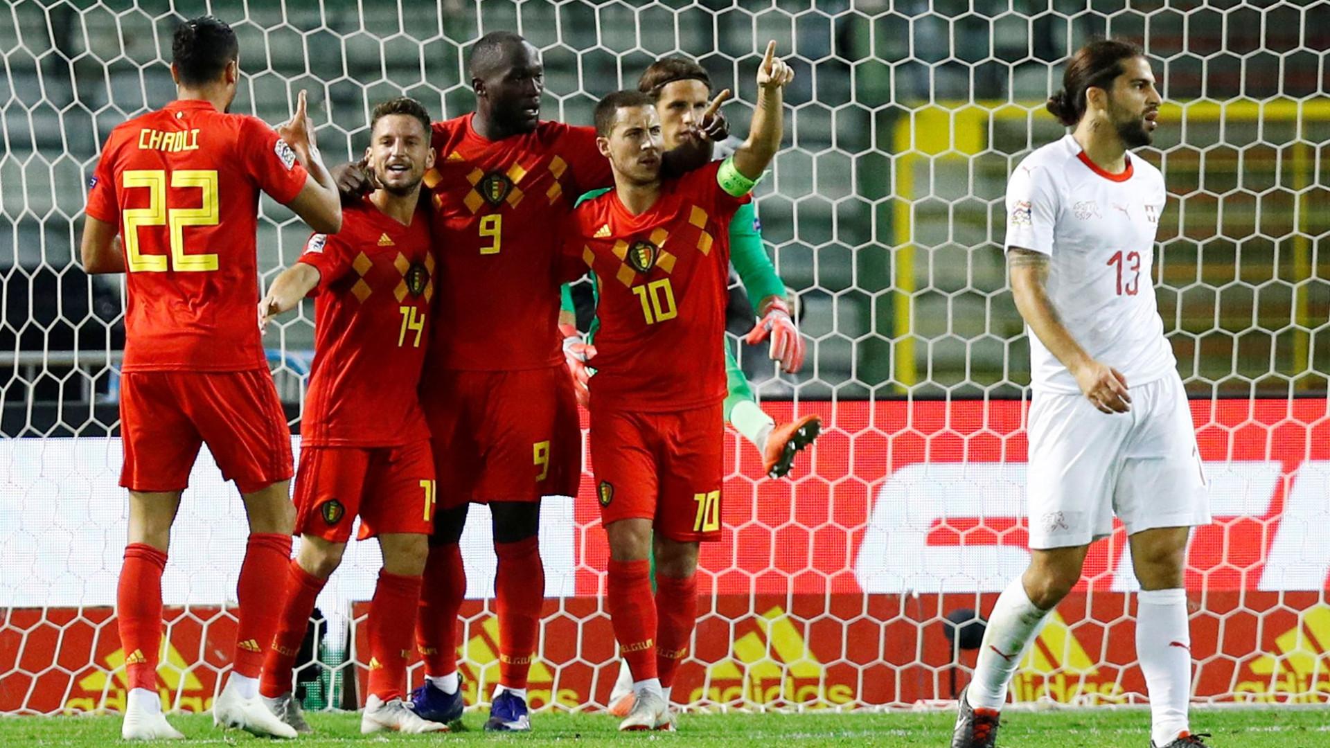 Lukaku brilha na vitória da Bélgica sobre a Suíça