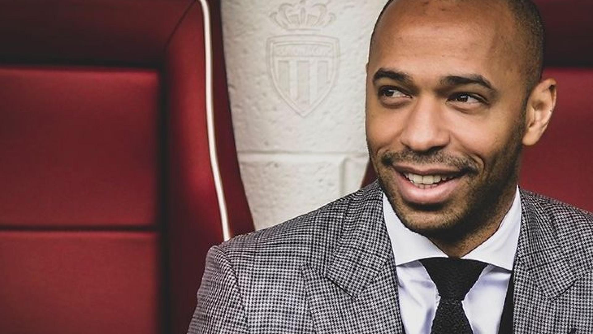 Thierry Henry é o sucessor de Leonardo Jardim