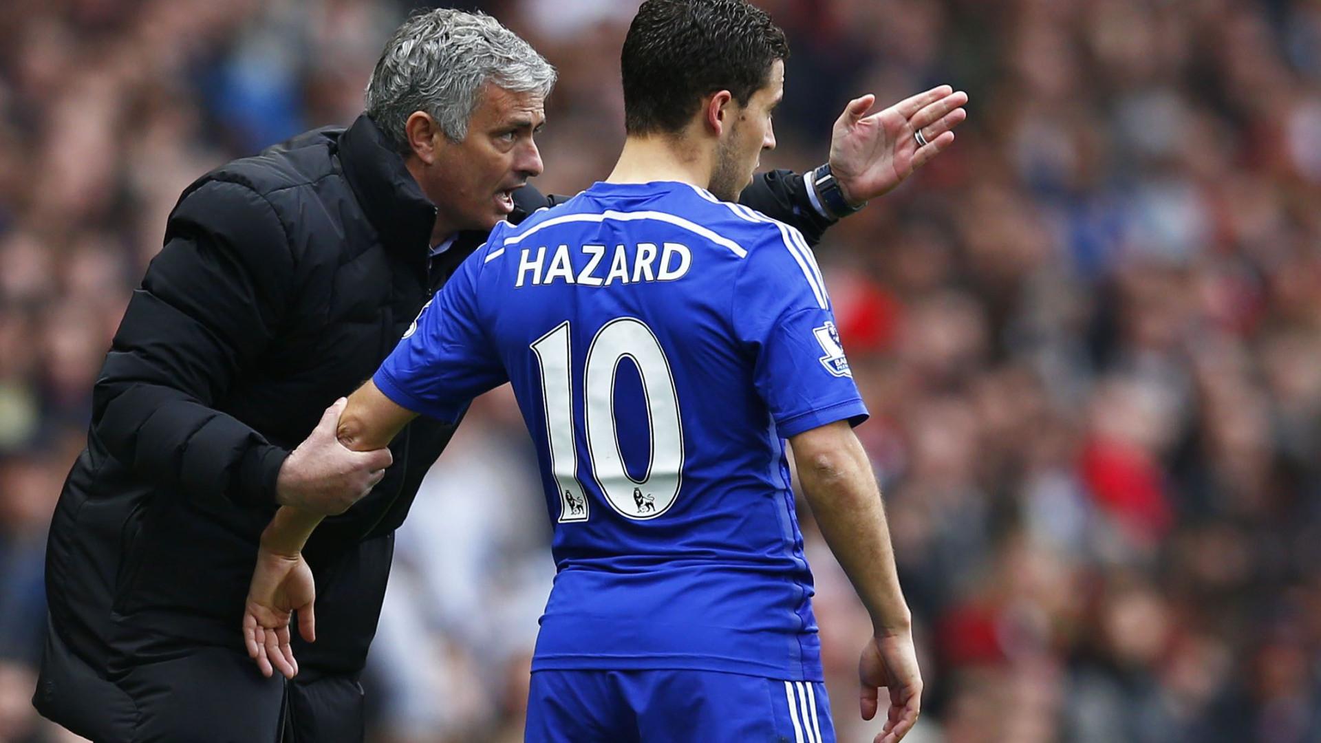 """Hazard abre jogo sobre Mourinho: """"Se os resultados são maus, ele critica"""""""