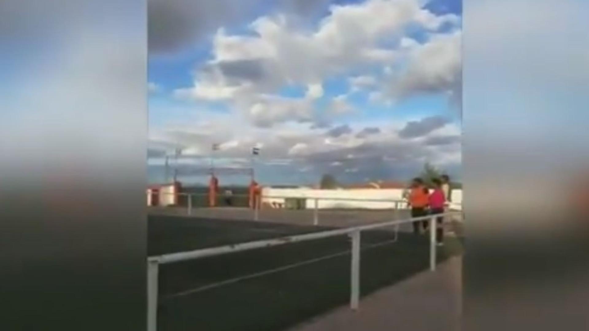 Guarda-redes assina golo olímpico com a ajuda do furacão Leslie
