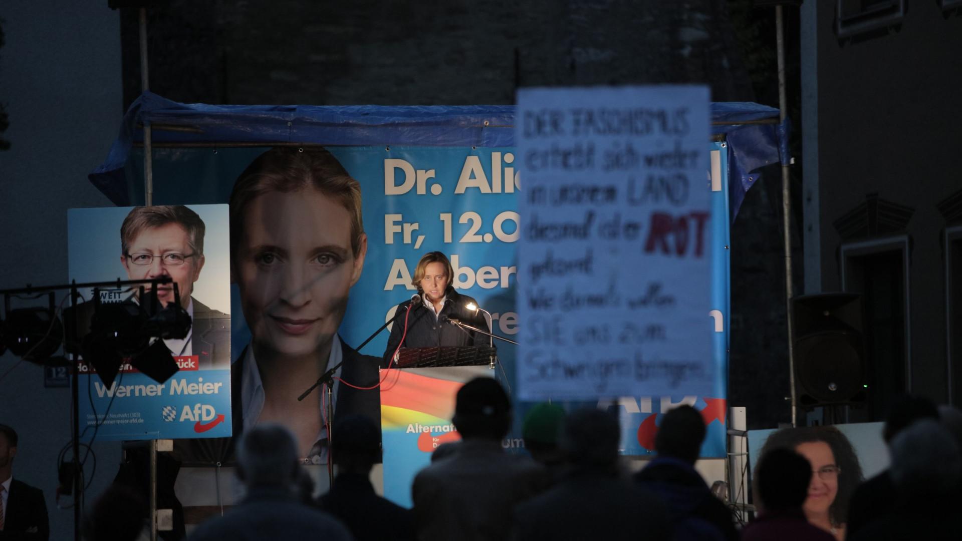 Extrema-direita alemã celebra resultado nas eleições da Baviera