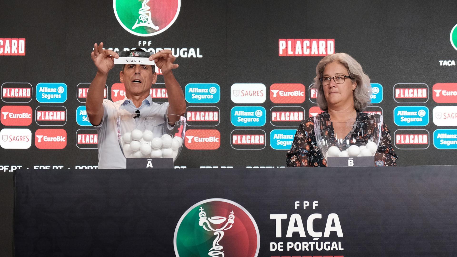 Taça de Portugal: Eis o calendário (final) da 3.ª eliminatória