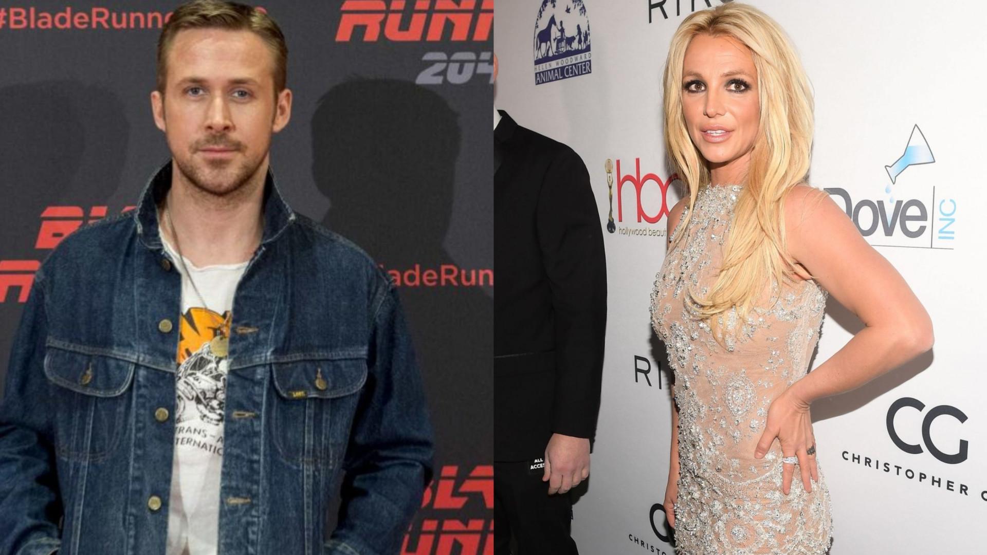 Ryan Gosling e Britney Spears reencontram-se após anos