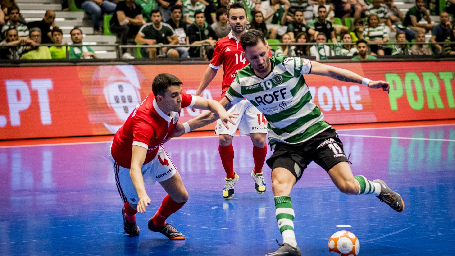 Vantagem de golos garante apuramento do Sporting e afastamento do Benfica
