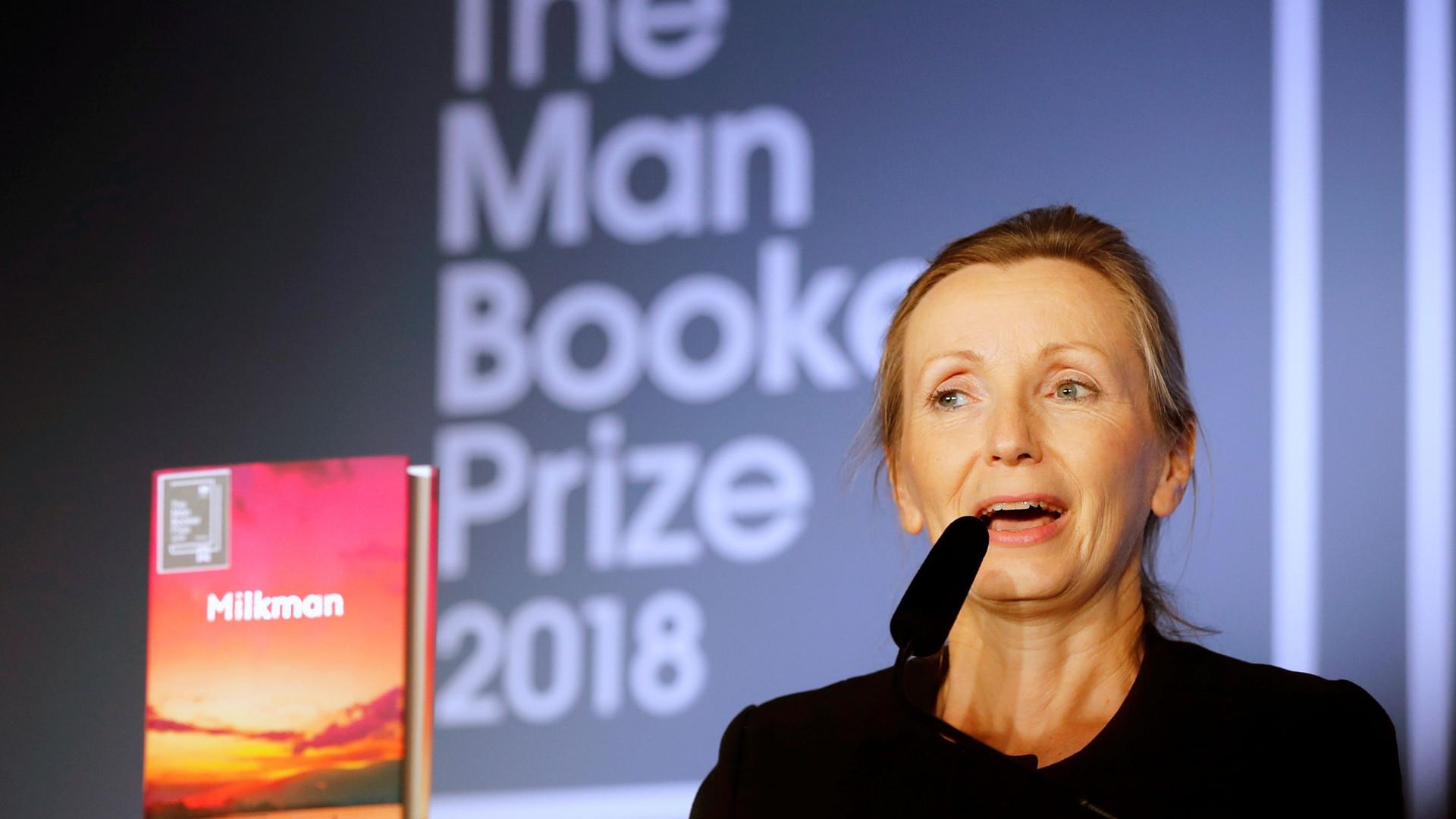 Anna Burns vence Man Booker Prize com 'Milkman'