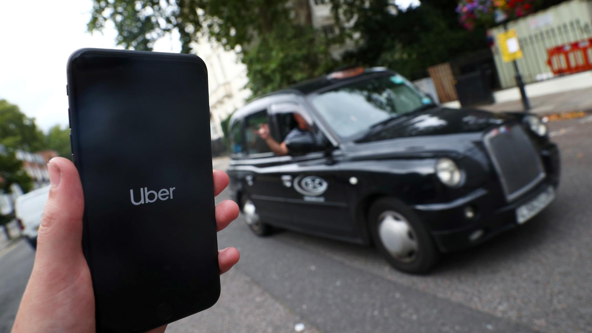 Utilizadores e condutores da Uber terão mais segurança