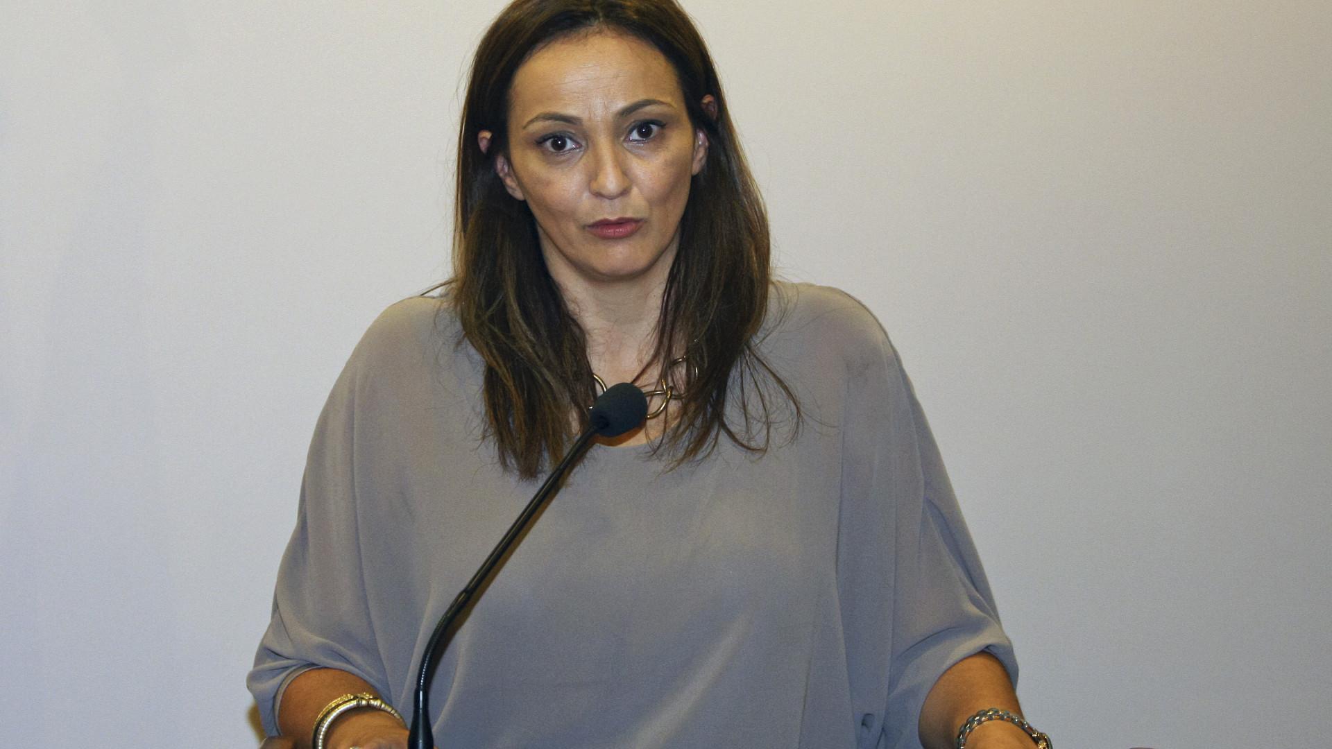 """Andreia Couto defende-se: """"Desminto categoricamente"""""""