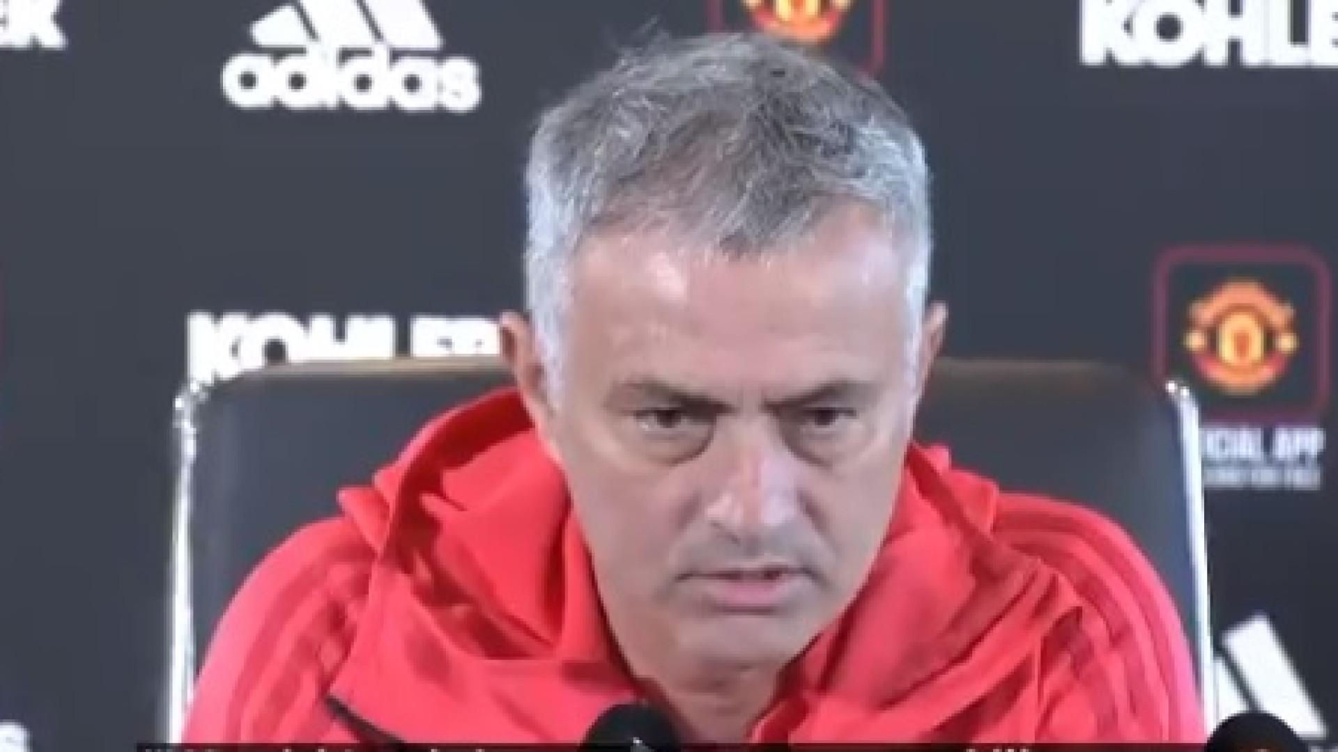 """""""Não vou festejar como um maluco"""", palavra de Mourinho"""