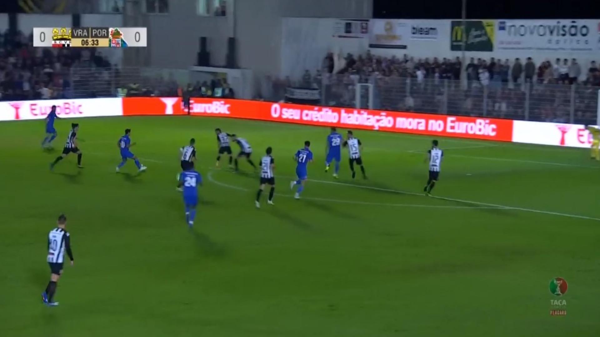 Adrián López retribui confiança de Sérgio Conceição com belo golo