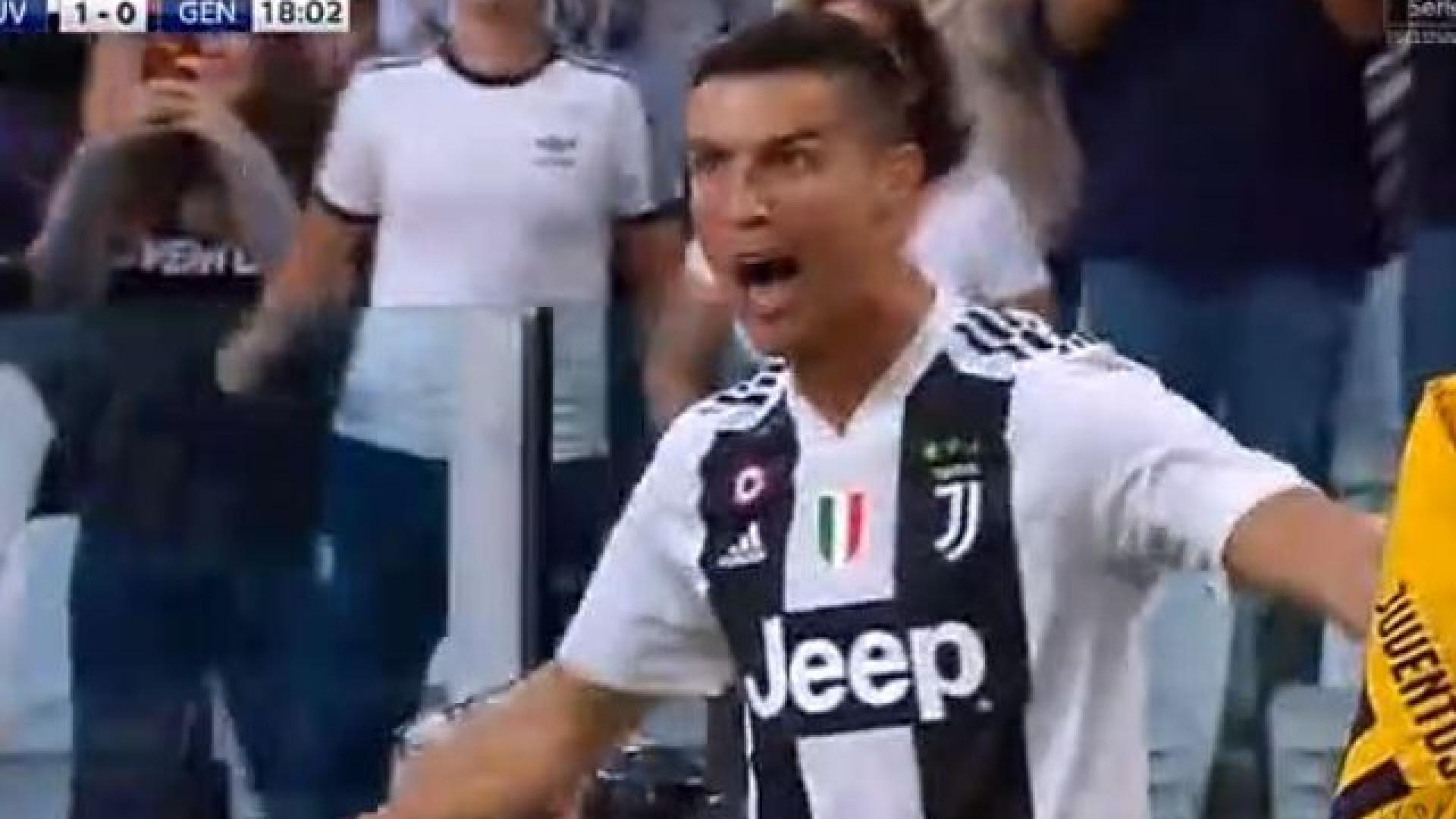 Génova 'embrulhou-se' e Cristiano Ronaldo não perdoou