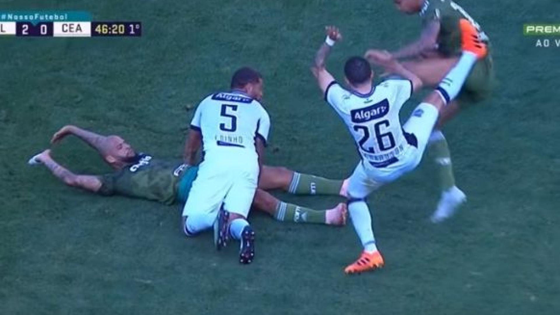 A entrada 'assassina' de um ex-Benfica que arrepia... só de ver