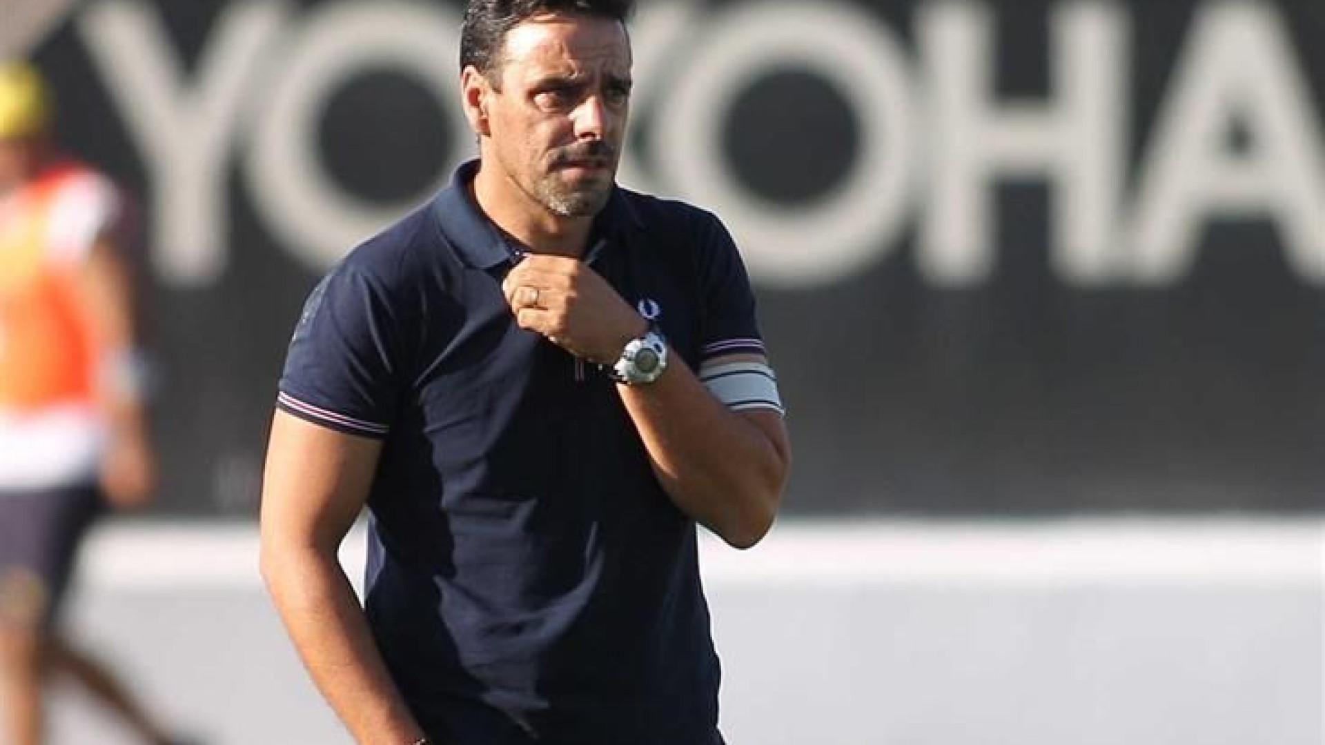 Técnico do Vildemoinhos já 'elegeu' o adversário ideal na quarta ronda