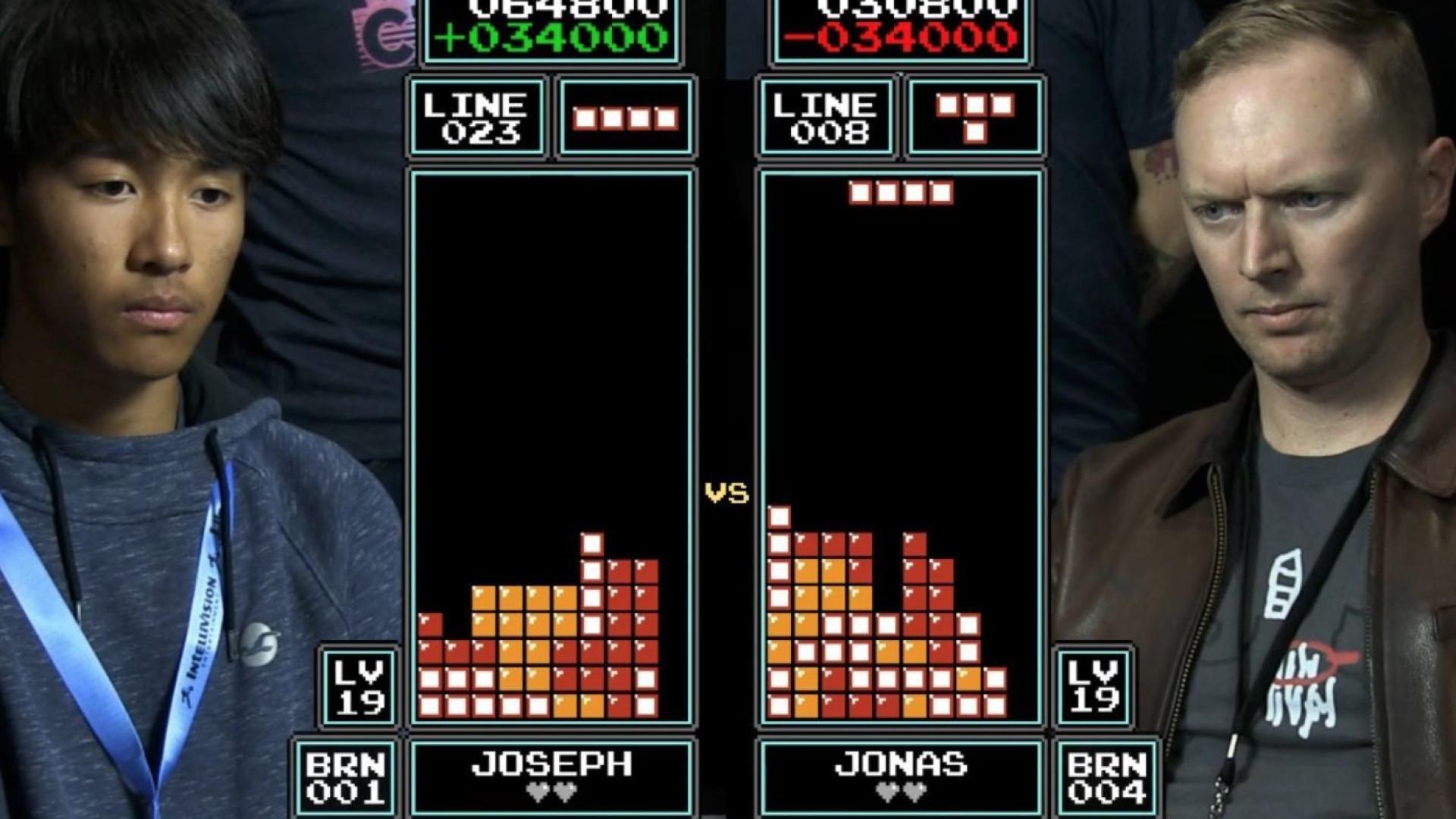 Vídeo mostra uma final alucinante de 'Tetris'