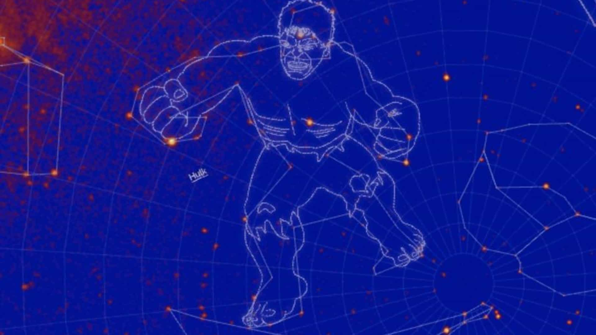 Hulk, Mjolnir e Godzilla. NASA escolhe nomes de novas constelações