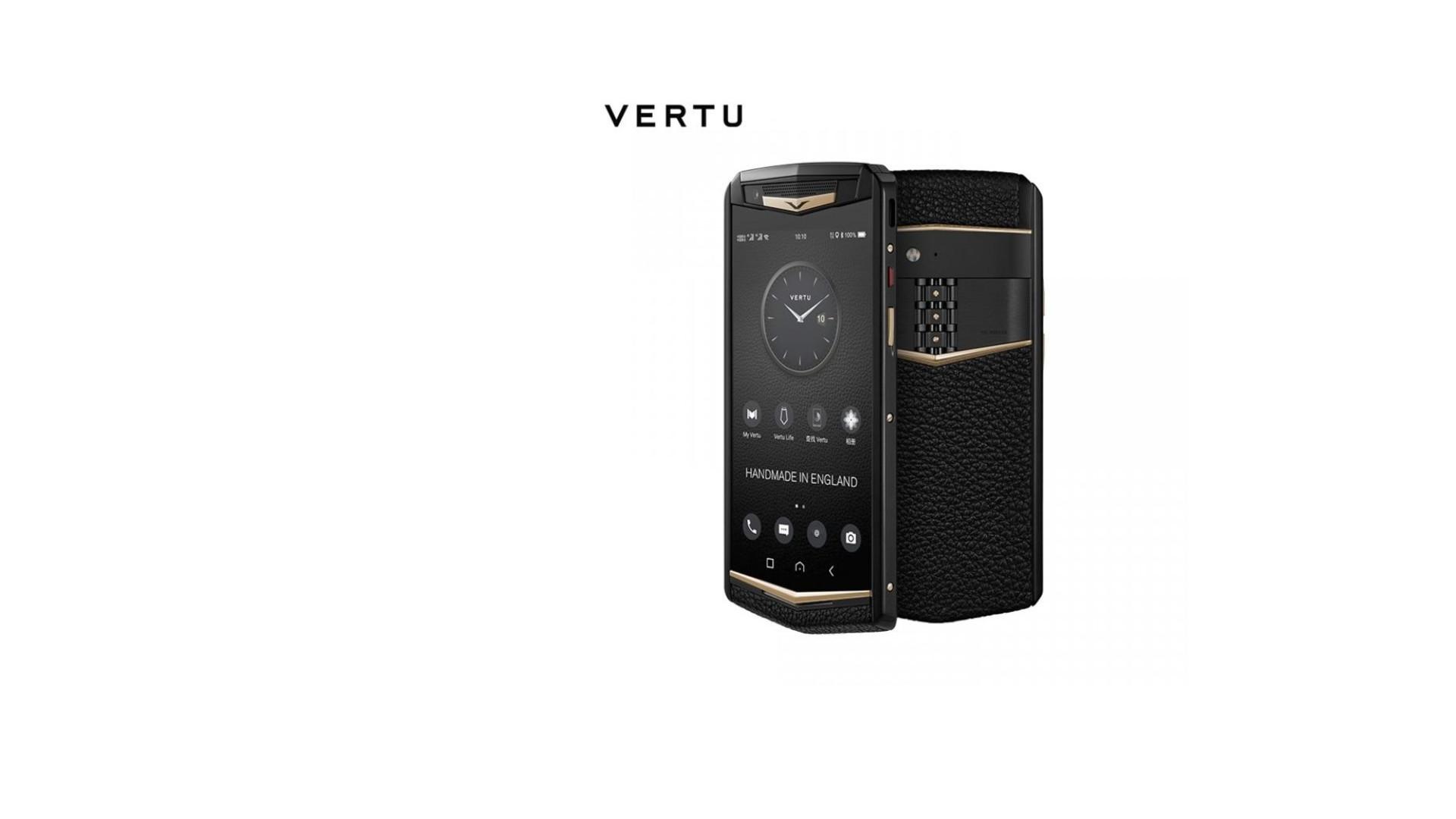Vertu, a marca de smartphones de luxo, está de volta com nova proposta
