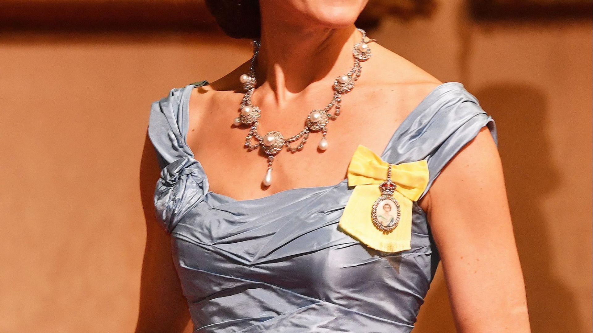 Kate Middleton usou a tiara preferida da princesa Diana