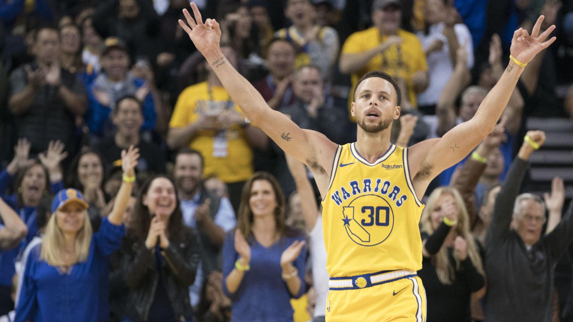 Warriors 'caem' em casa pela primeira vez na época