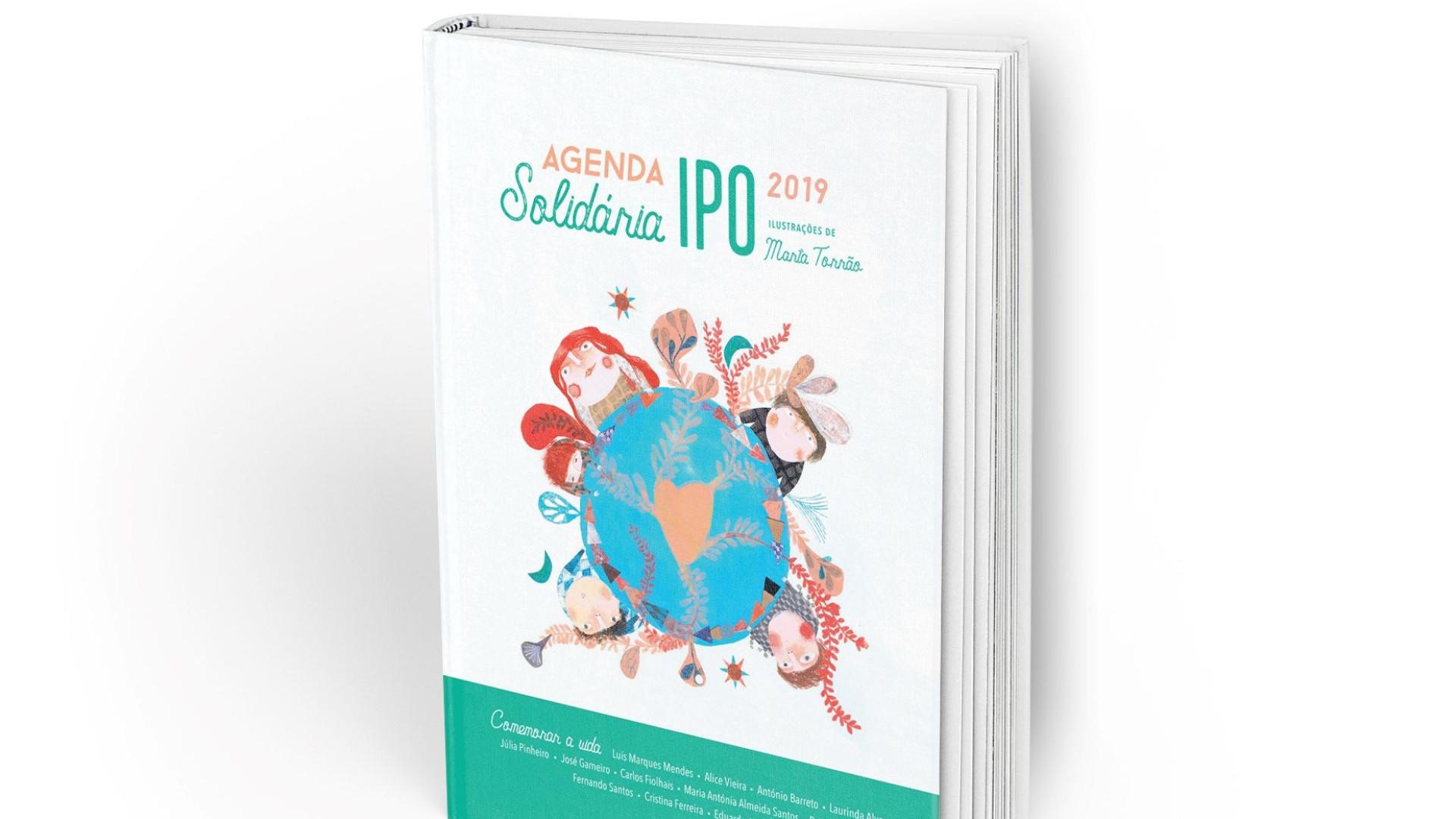 A pensar nos presentes de Natal? Está aí a Agenda Solidária IPO 2019