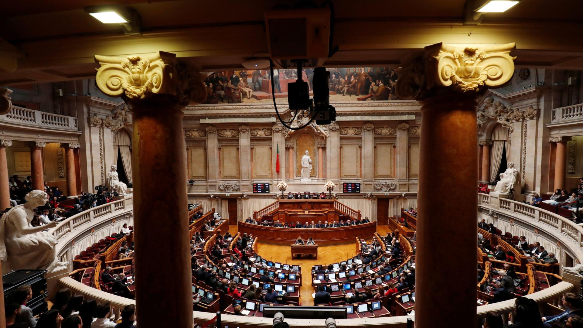 Chumbadas resoluções de PSD, CDS-PP e PCP sobre Programa de Estabilidade