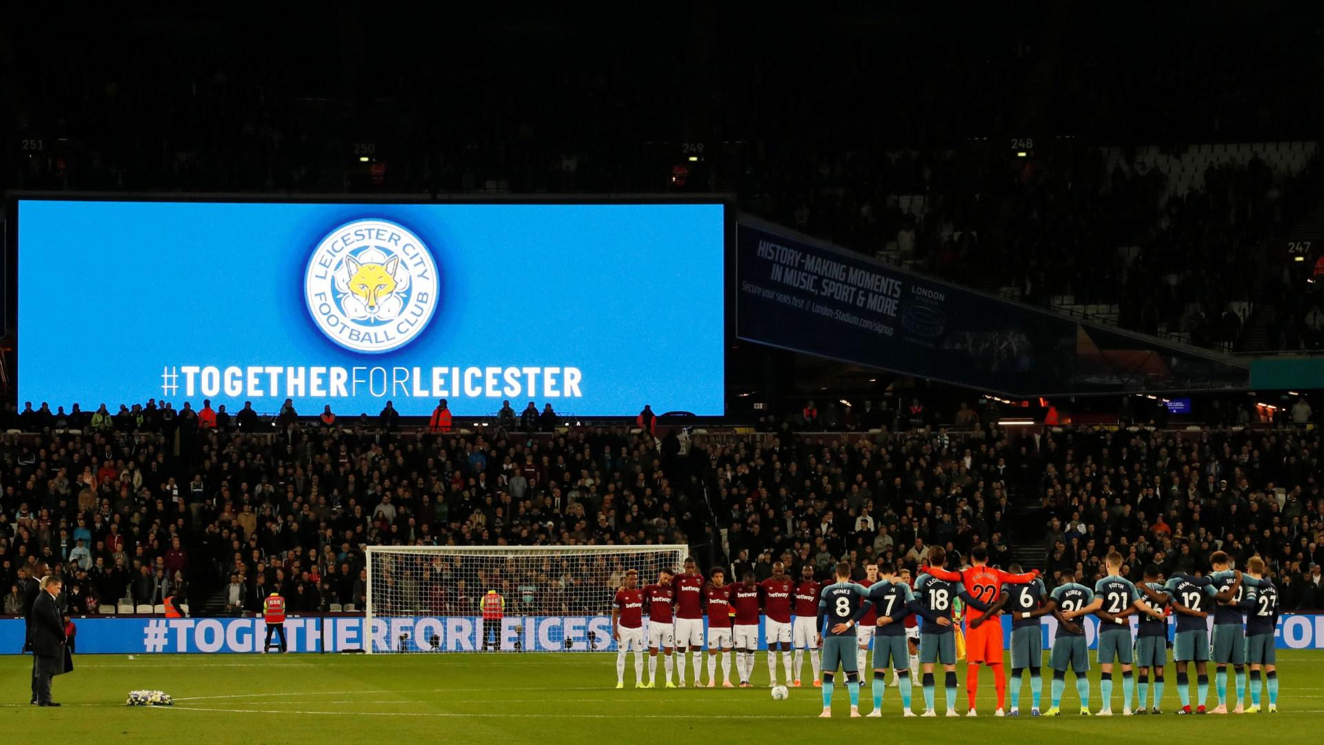 Leicester prepara homenagem a Vichai no regresso ao King Power