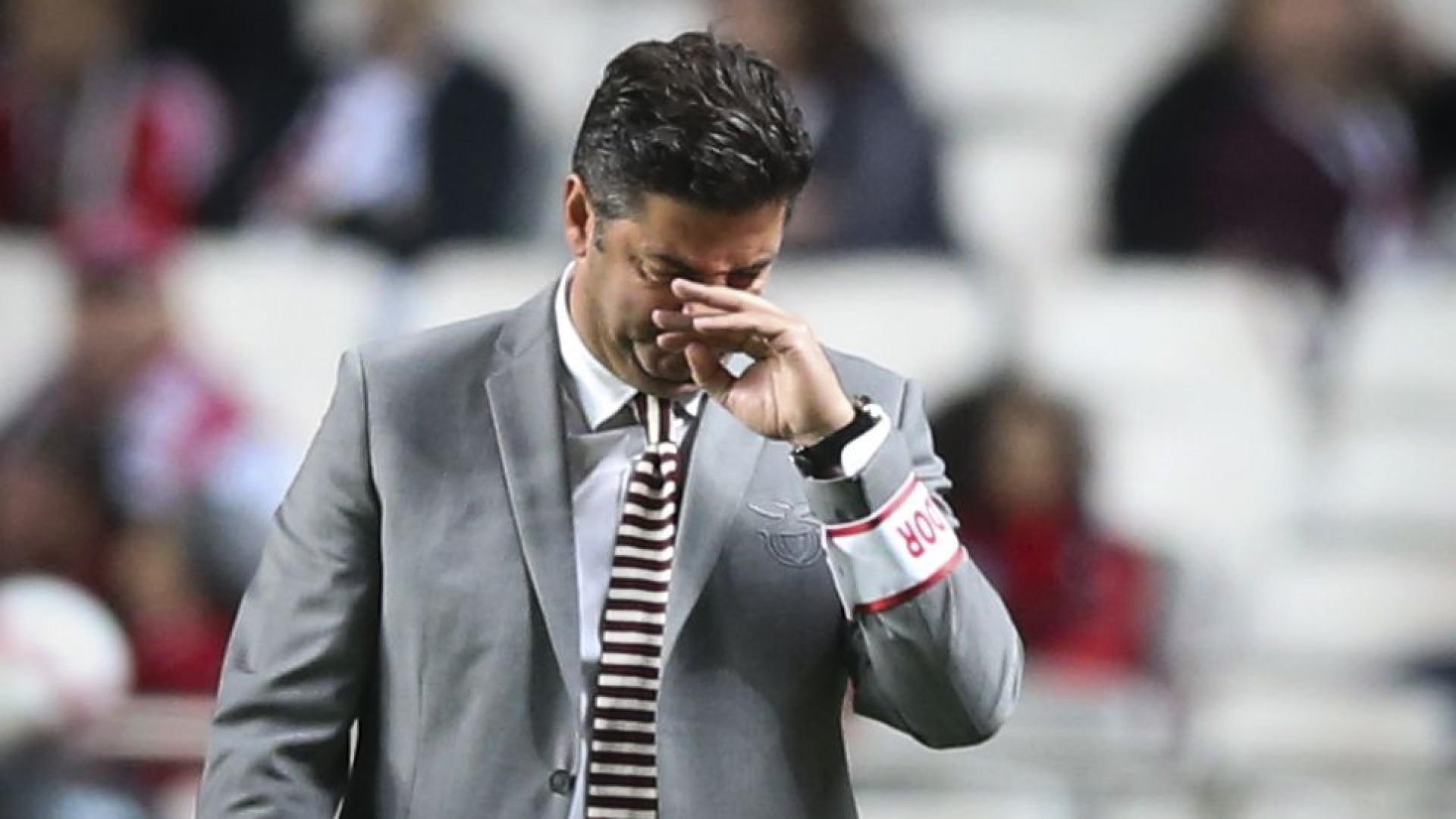 """Rui Vitória e a contestação: """"Não me perturbo com muita facilidade"""""""