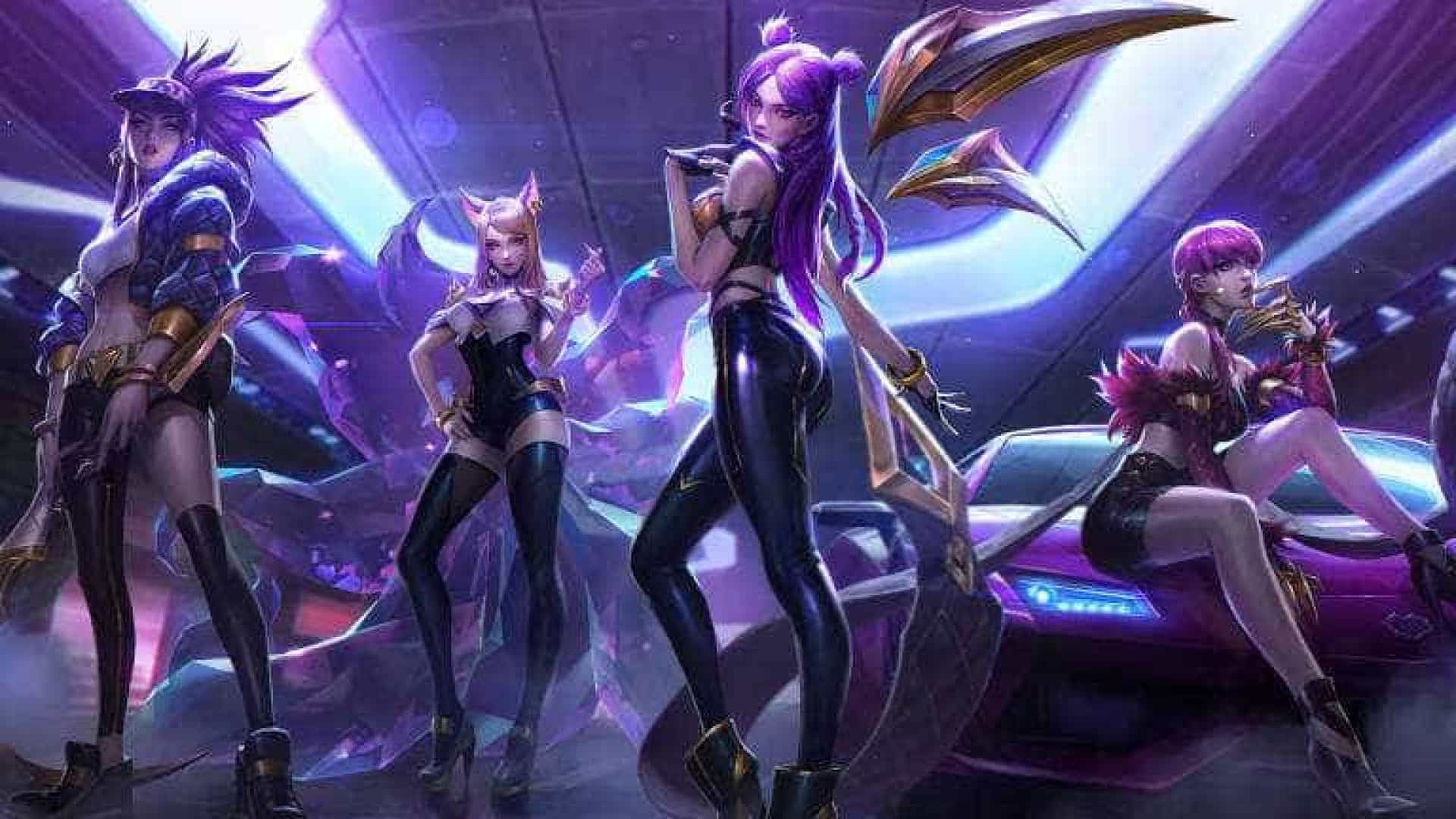 Empresa de jogos cria banda feminina virtual inspirada no k-pop