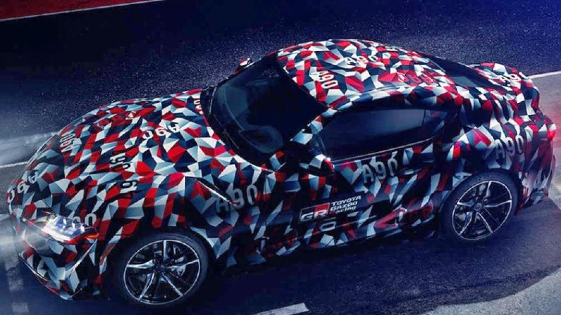 Já há data para o Supra. Toyota revela novo modelo em 2019