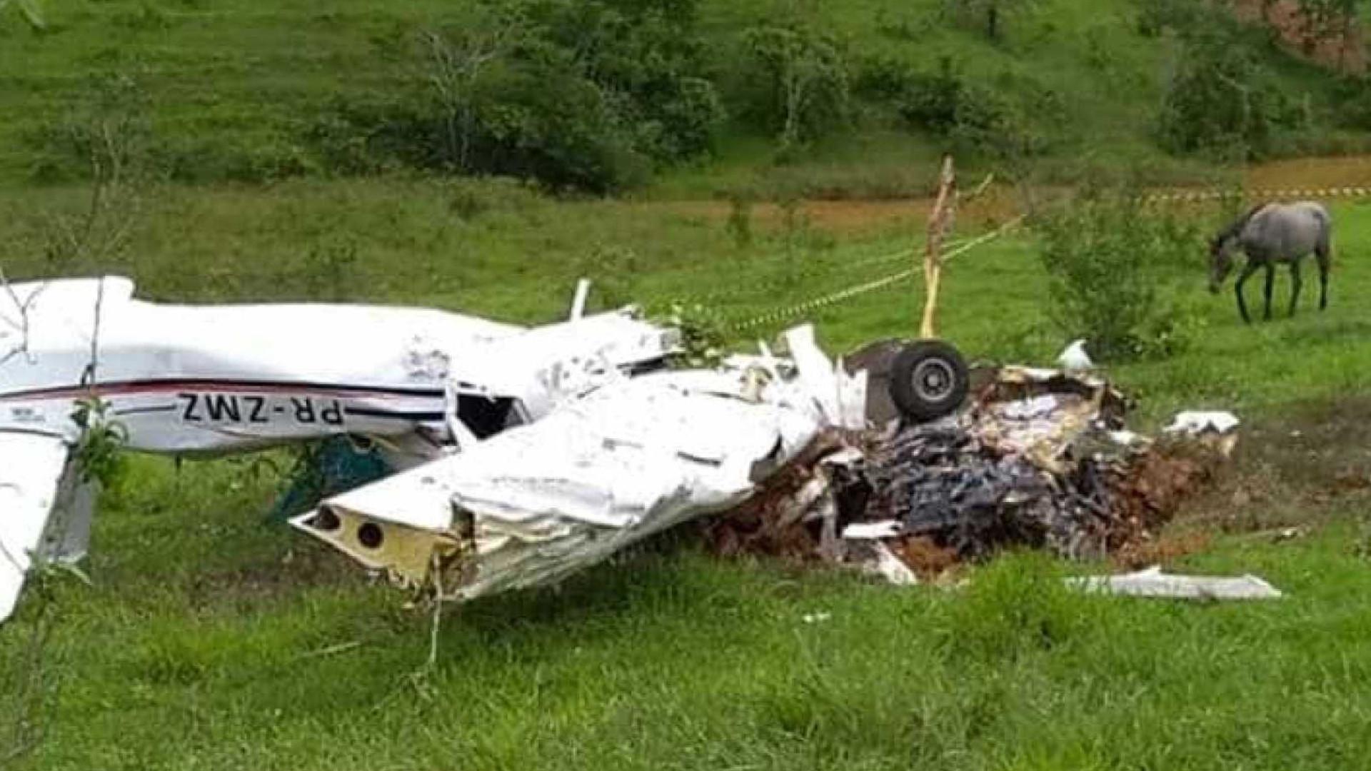 Quatro mortos em queda de avioneta em Minas Gerais, no Brasil