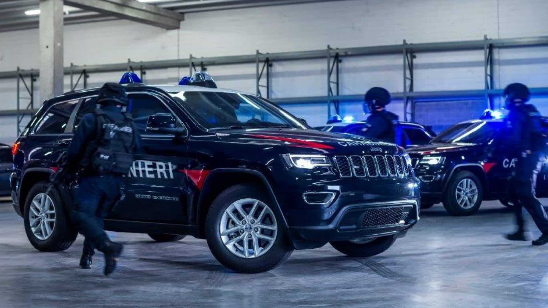 Unidade antiterrorismo teve direito a prenda especial da Jeep