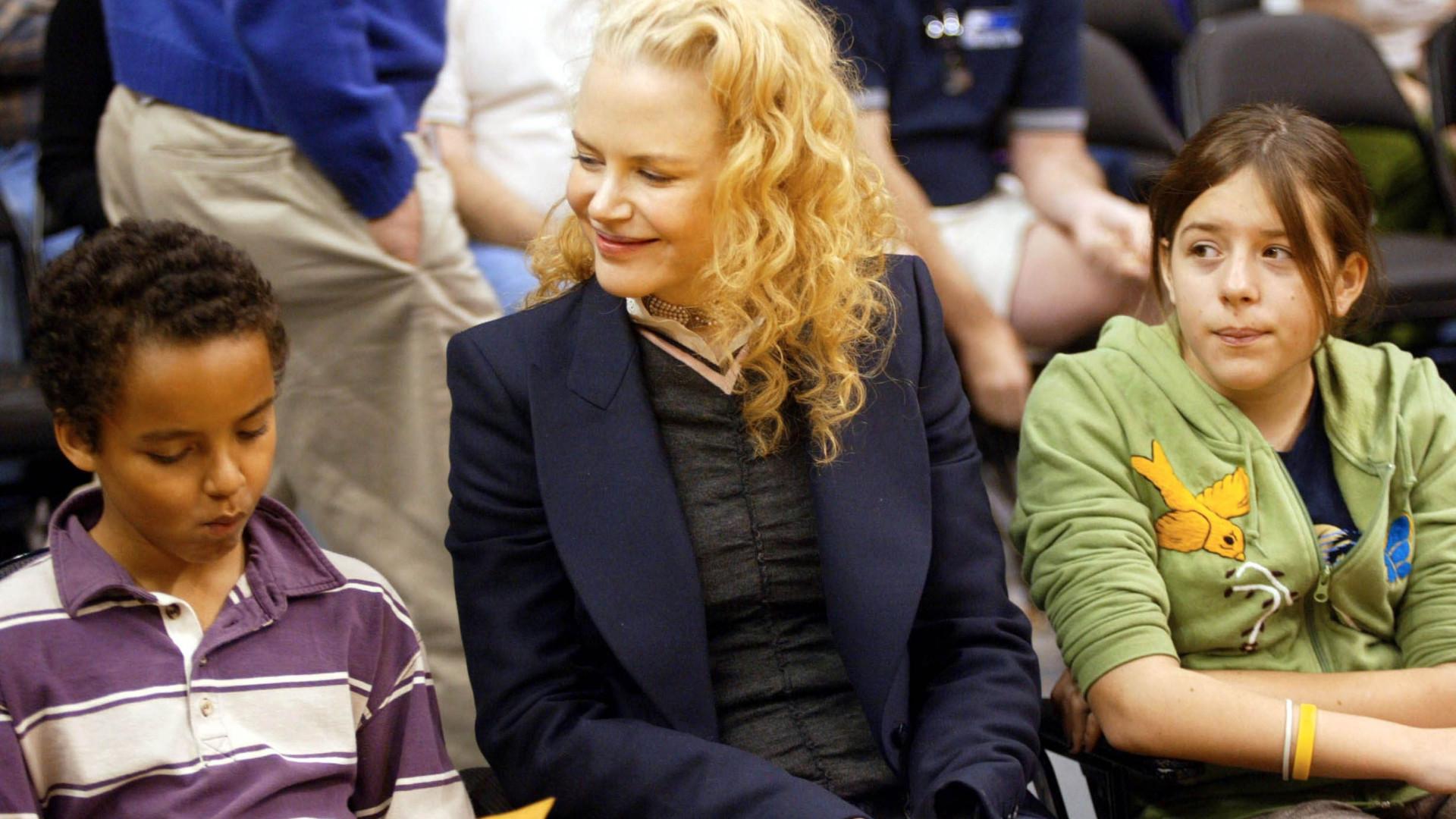 Nicole Kidman fala dos filhos com Tom Cruise e da ligação à Cientologia