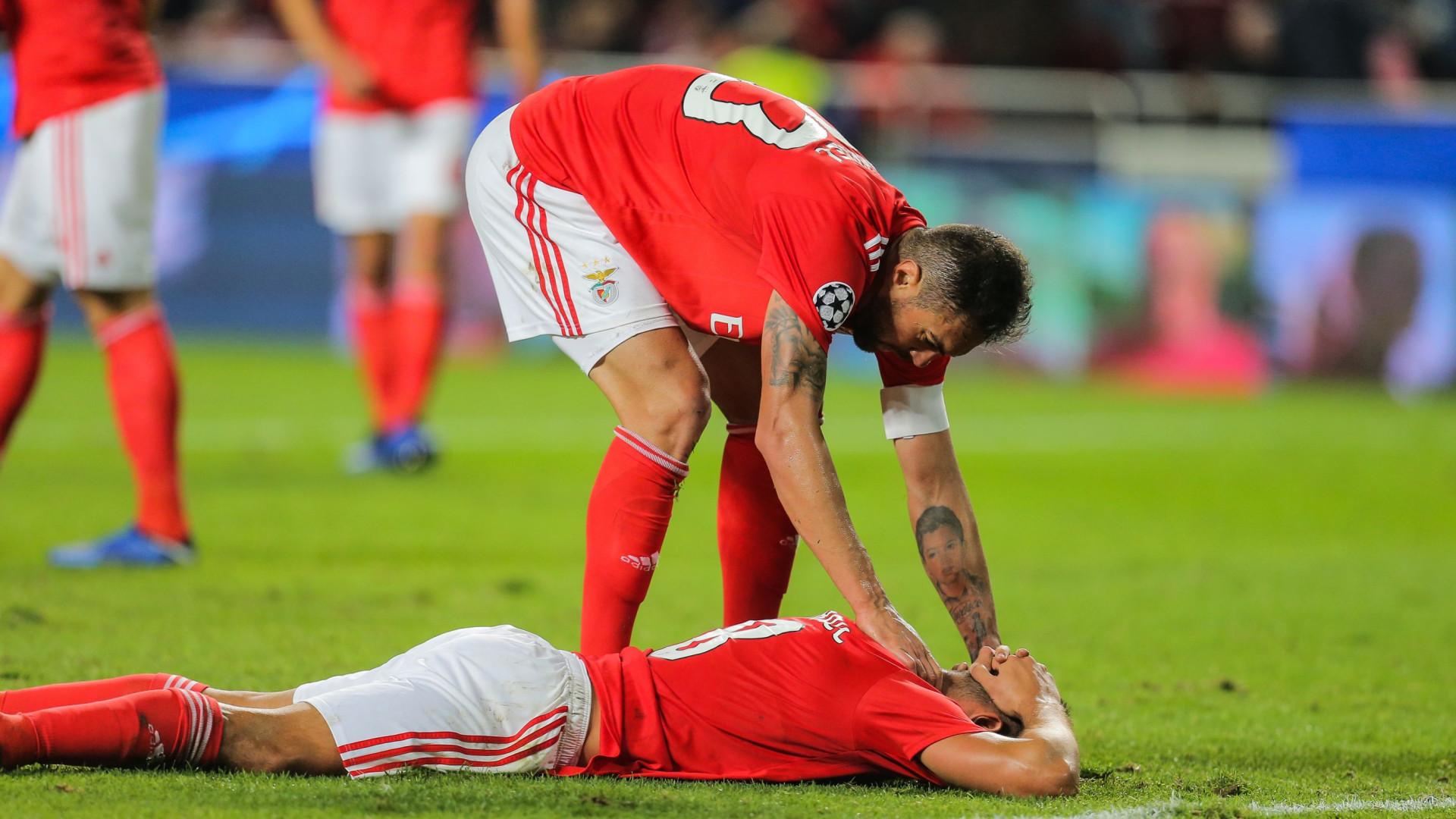 Empate na Champions dita 'tombo' das ações do Benfica. Deslizam 6%