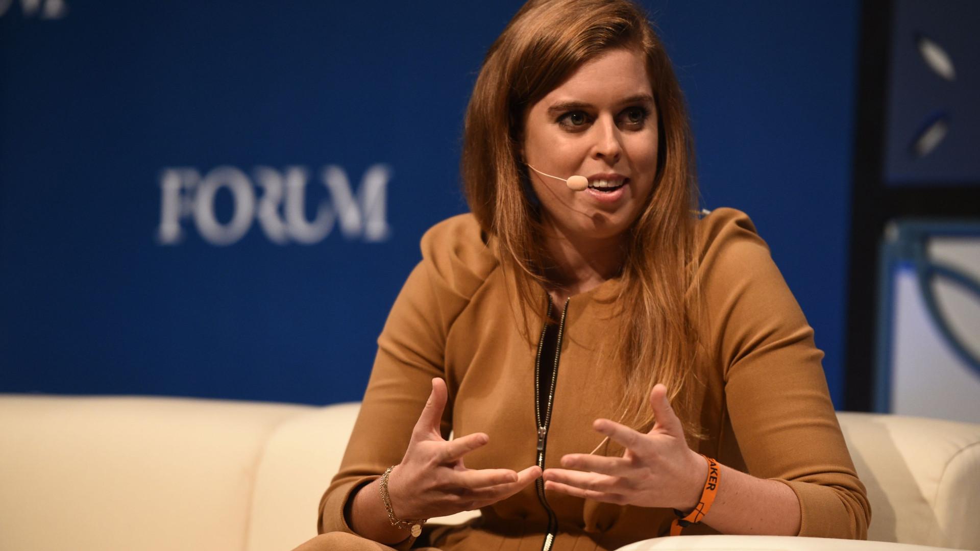 Princesa Beatrice em Portugal como convidada da Web Summit