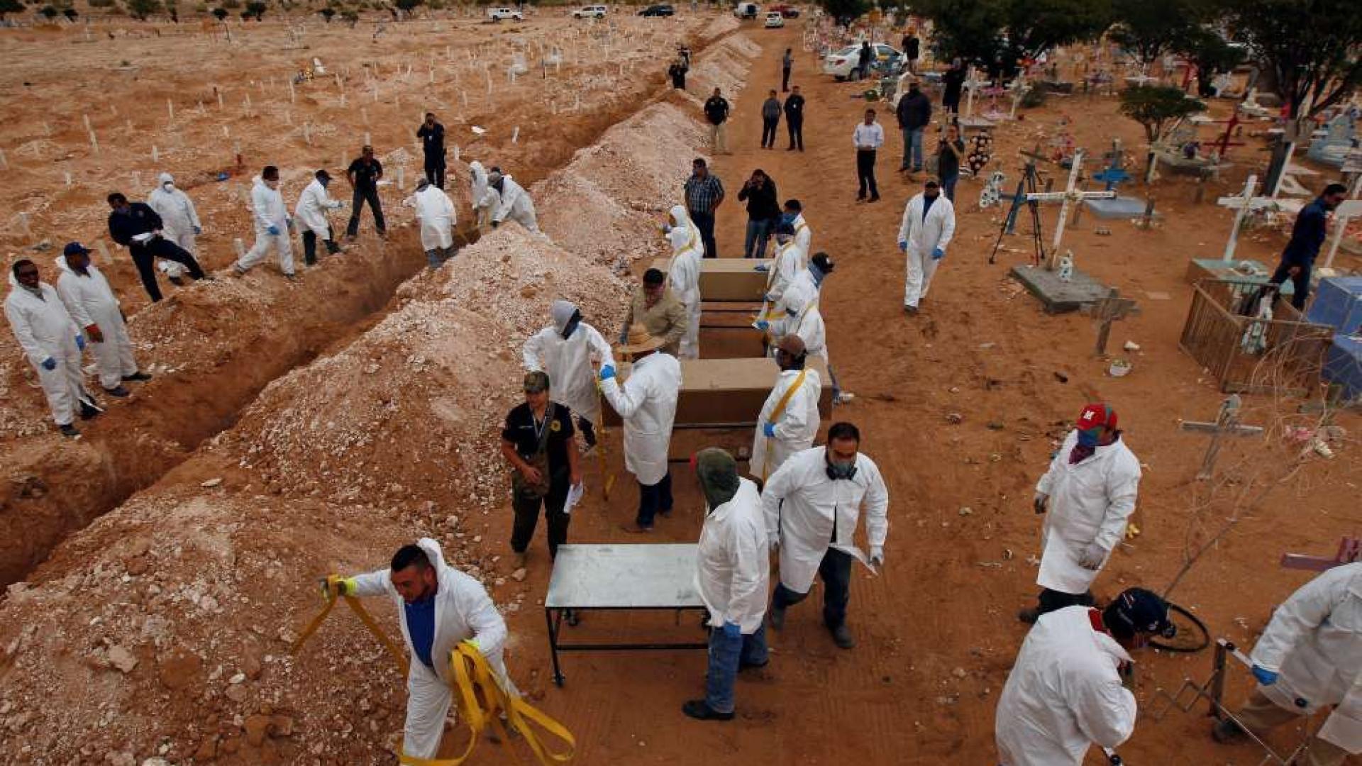 Descoberta vala comum na Etiópia com pelo menos 200 corpos