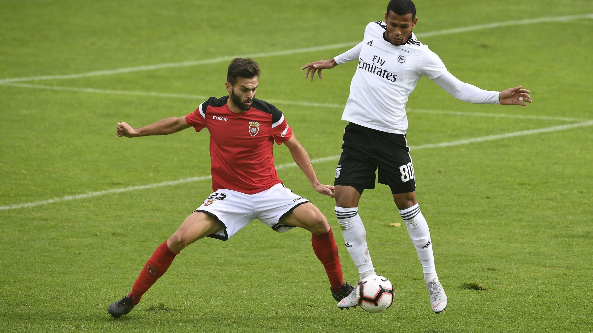Benfica B soma segunda derrota consecutiva ao perder com Penafiel