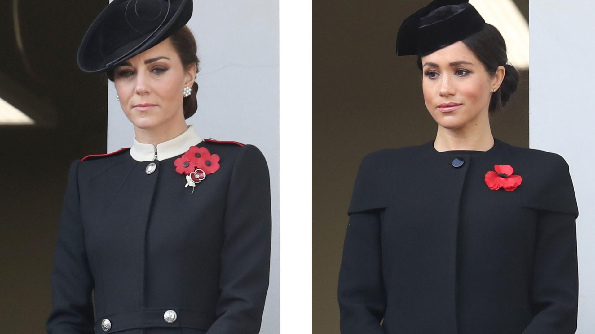 Cerimónia oficial: Por que Kate e Meghan surgiram em varandas diferentes?