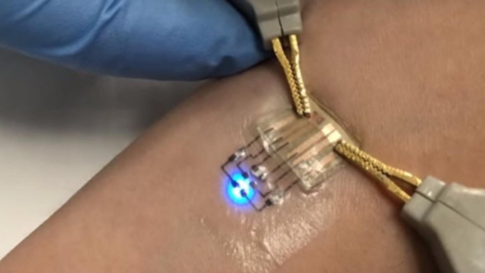 Novo método produz tatuagens eletrónicas de forma simples e a baixo custo