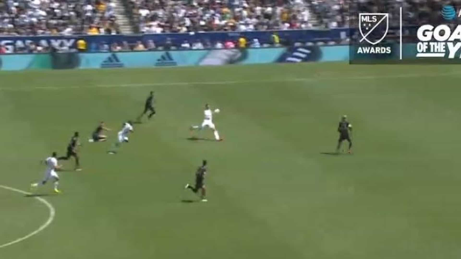 MLS: Prémio para Golo do Ano foi para esta 'bomba' de Ibrahimovic