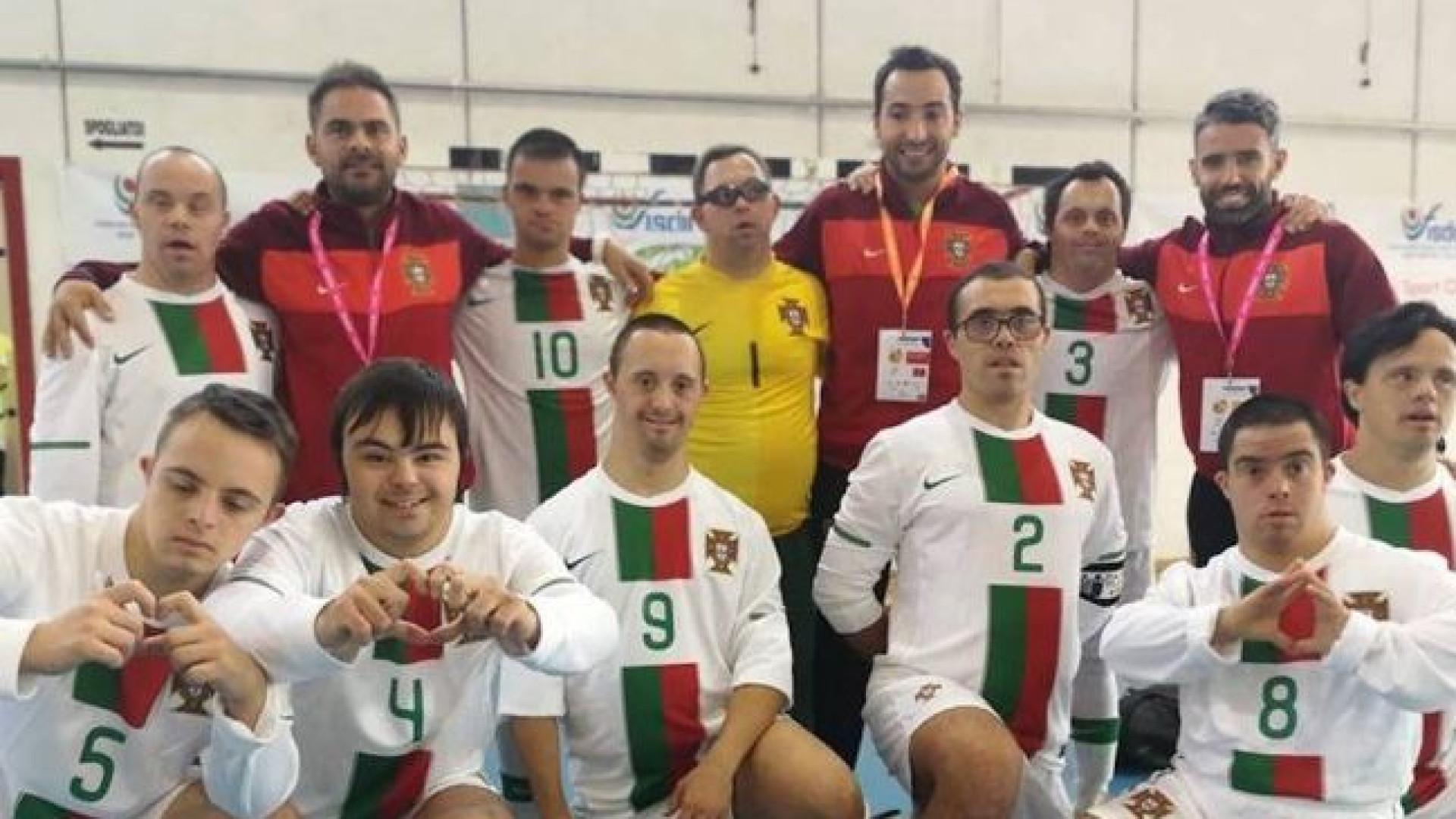 Seleção portuguesa de Síndrome de Down venceu a campeã do mundo 08c5cab272aa5