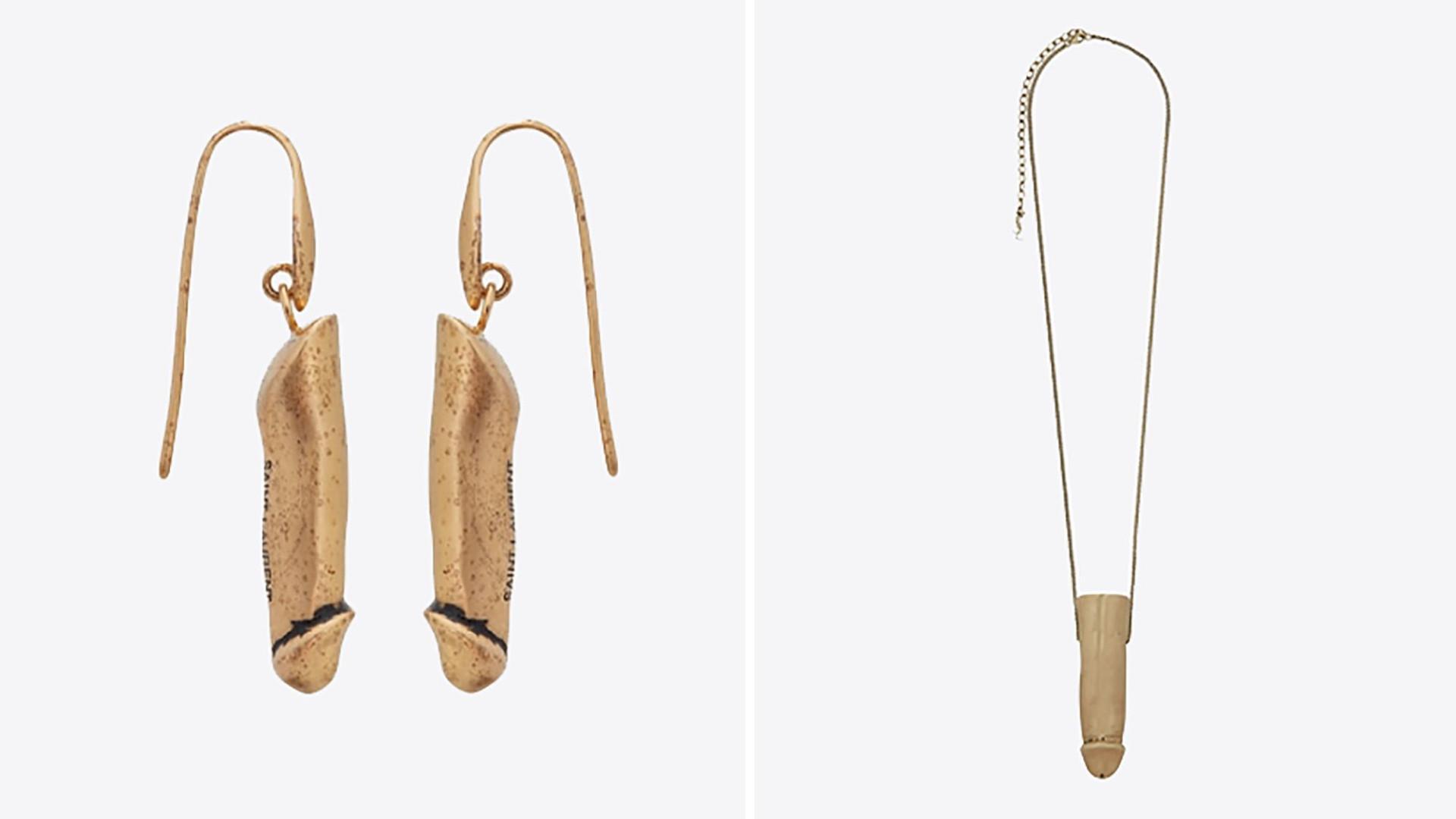 Bizarro: Yves Saint Laurent lança joias com forma de pénis