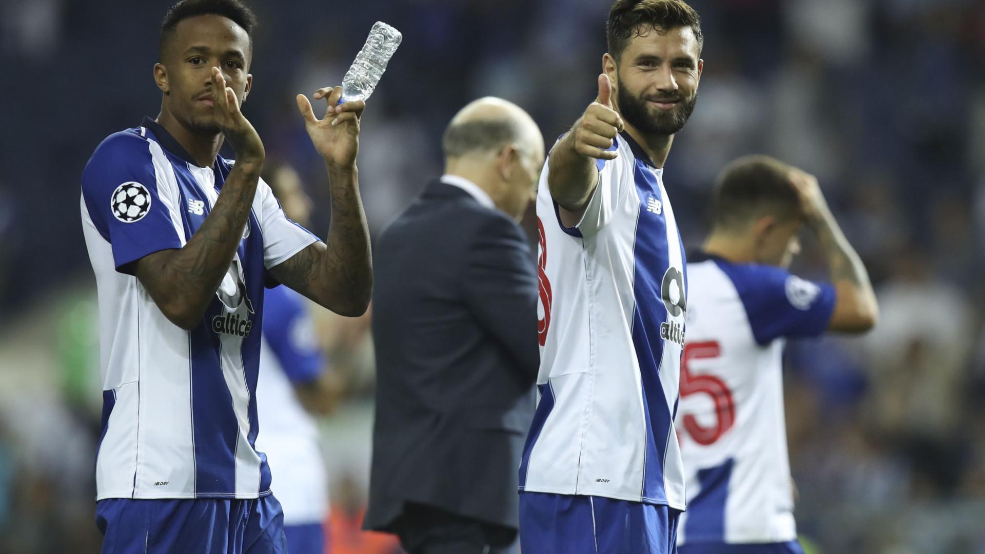 FC Porto, City e Liverpool erguem 'muros de betão' que a Europa inveja