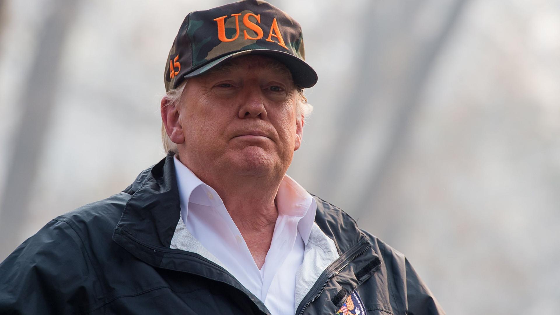 Trump deu o exemplo das florestas finladesas. Agora é alvo de piadas