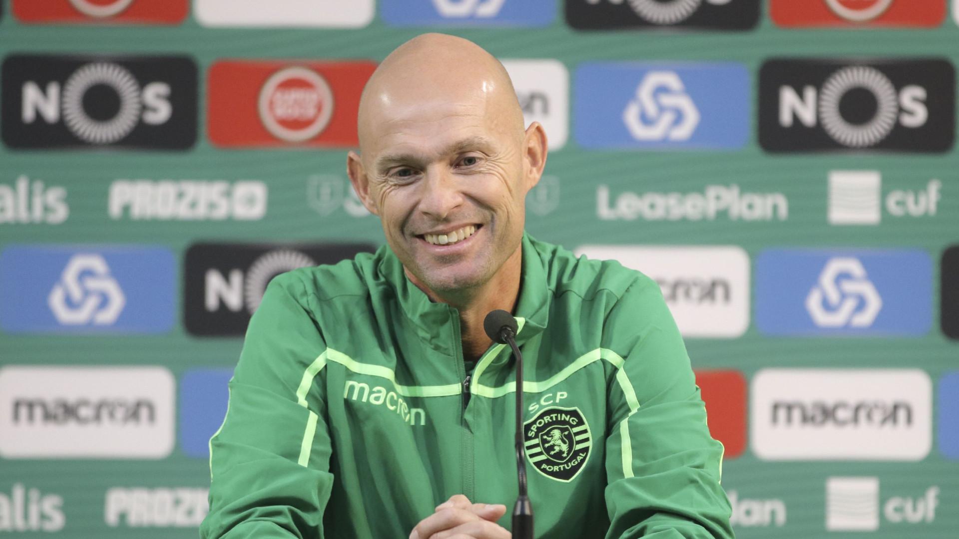 """Keizer: """"FC Porto? É um jogo importante mas não é decisivo"""""""