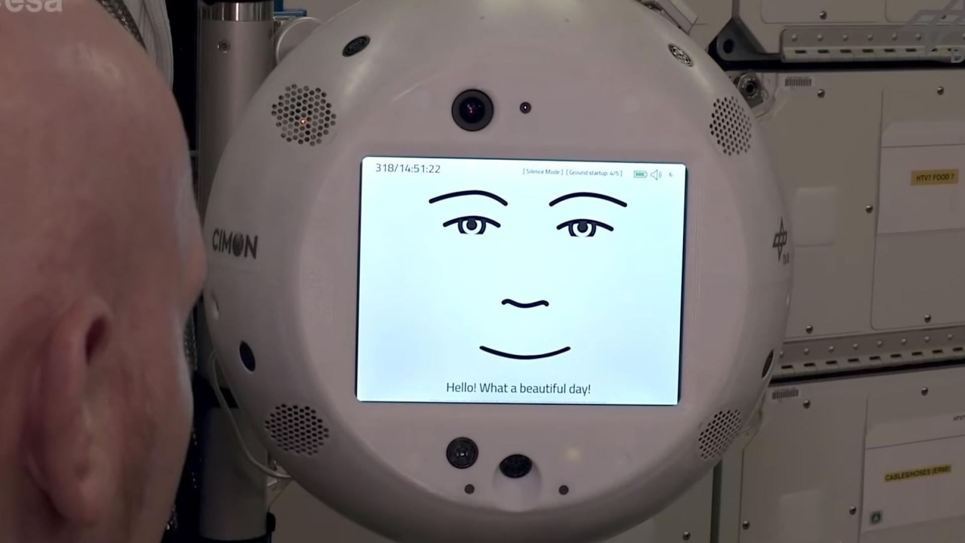 Robot da Estação Espacial pode ser demasiado 'sensível'
