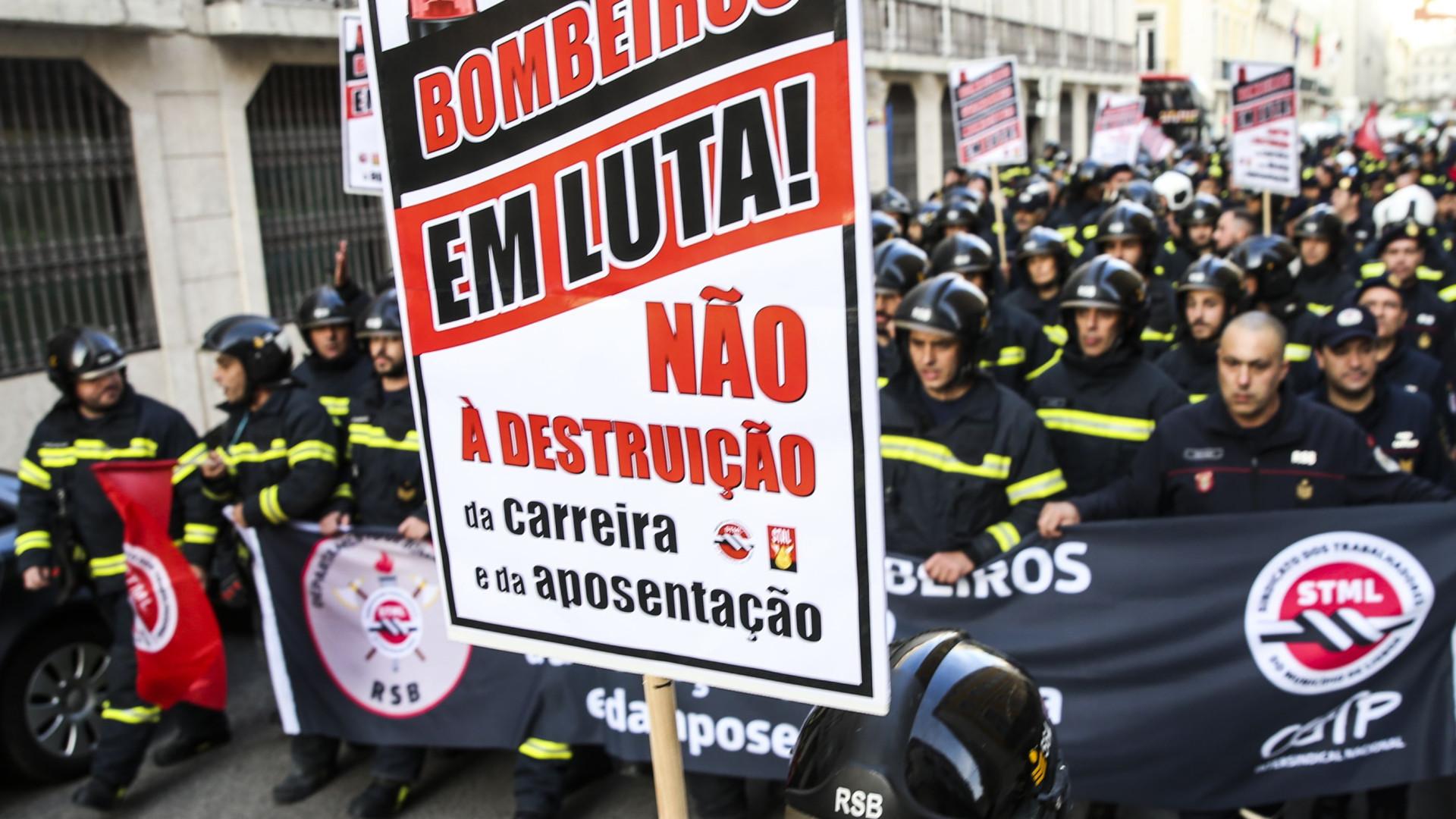 """Estatuto dos bombeiros da administração local e central """"será igual"""""""