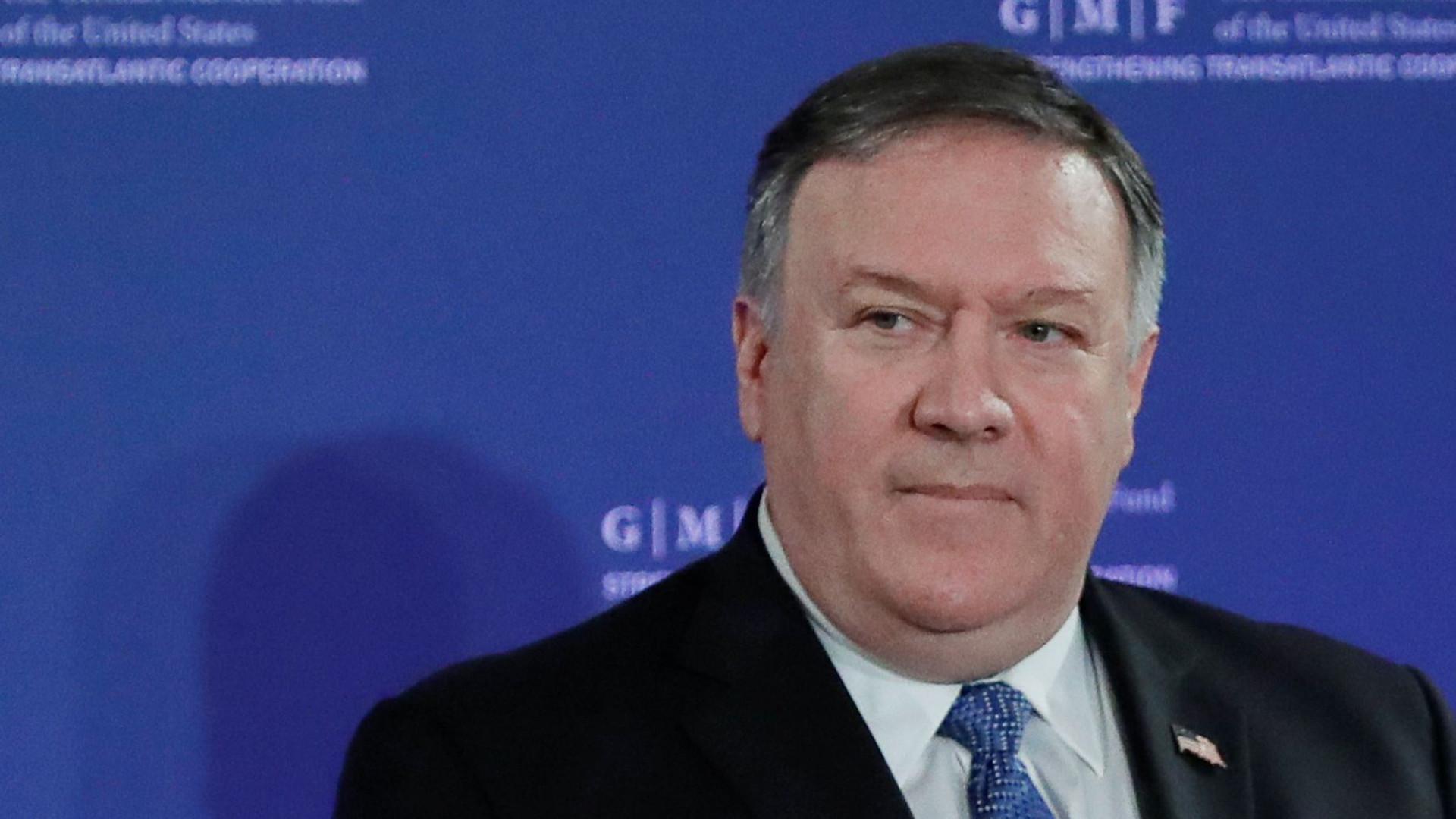 Pompeo diz que é preciso confrontar Irão para ter paz e segurança